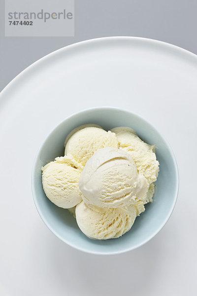 Eis ,Gewürzvanille, Vanille ,Sahne