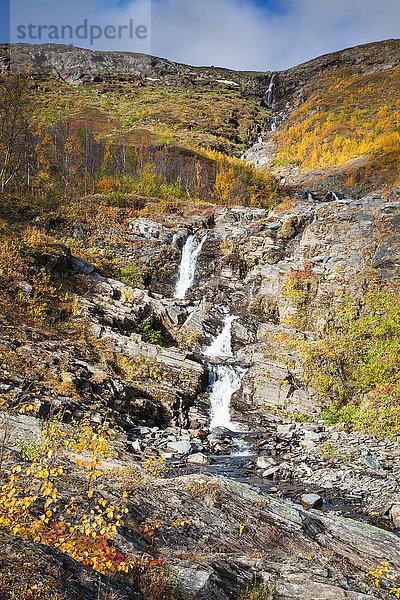Abisko,Bach,Berge,Europa,Gewässer,Herbst