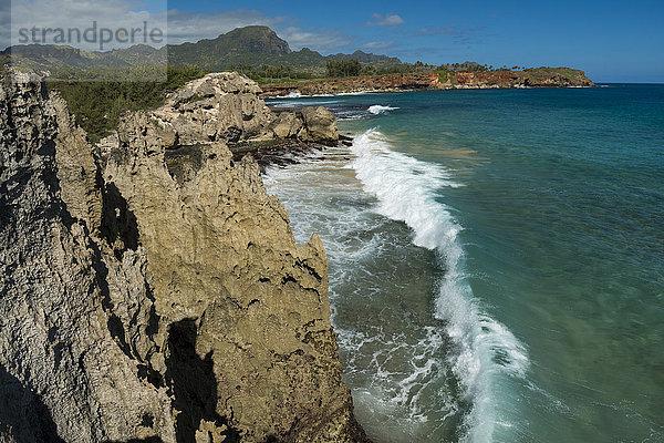 Amerika,Gewässer,Hawaii,Insel,Kauai,kleine Bucht