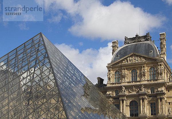 Bauwerk,Europa,Frankreich,Gebäude,Glas,Glaspyramide