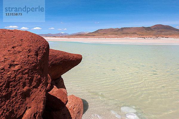 Amerika,Atacama,Chile,Felsen,Gewässer,Lagune