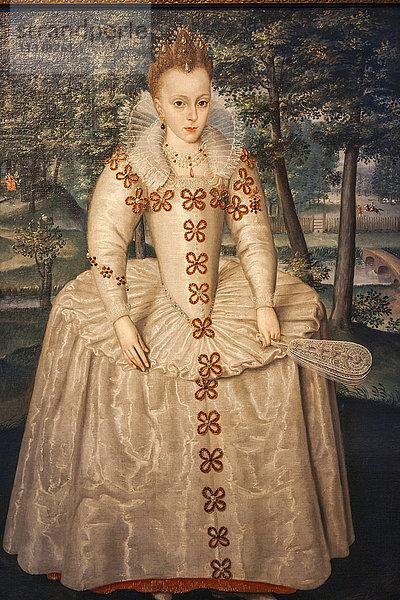 Ansicht,Bild,Bildende Kunst,Bildnis,Elizabeth von Böhmen,England