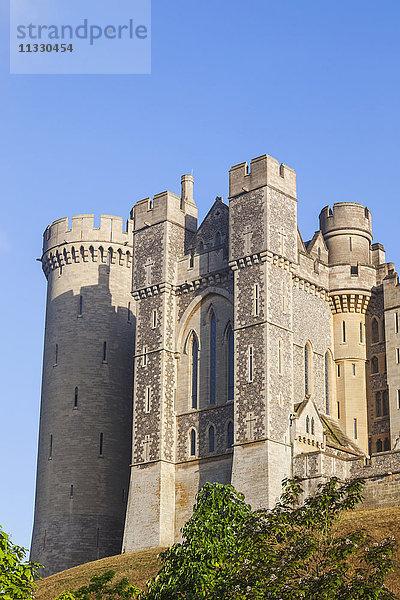Arundel,Burg,England,Europa,Großbritannien,Nordeuropa