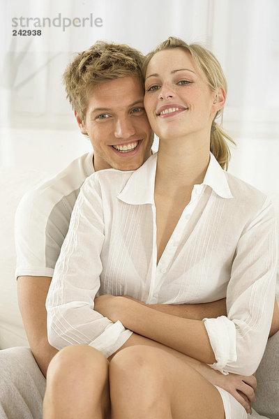 Kuschelnde Dating-Service