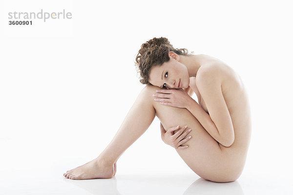 Porträt einer nackten Frau
