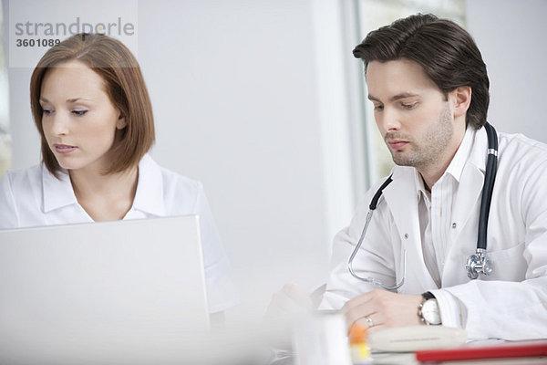 Ärzte in der Praxis