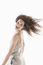 Porträt einer lachenden Frau