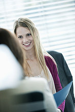 Unternehmerinnen im Büro
