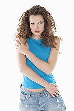 Porträt einer posierenden Frau
